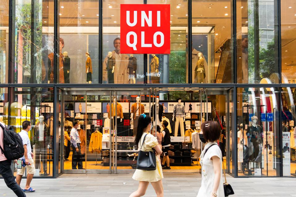 Fast Retailing group falls victim to COVID closures but profits redeemed by online sales and trending work-from-home apparel.
