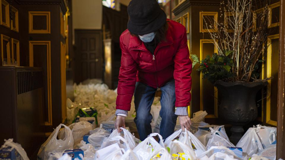 Food Donations Rise Along With Unemployment In New York City