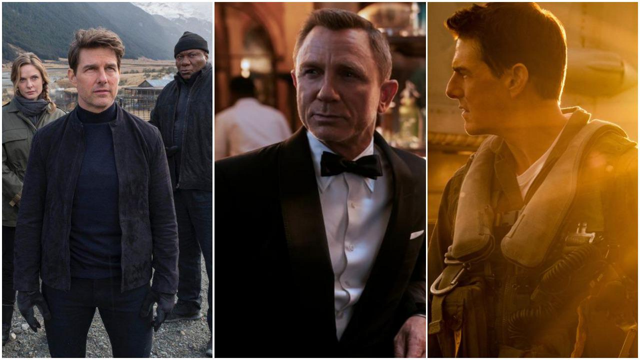 'Mission: Impossible - Fallout, No Time to Die and Top Gun: Maverick