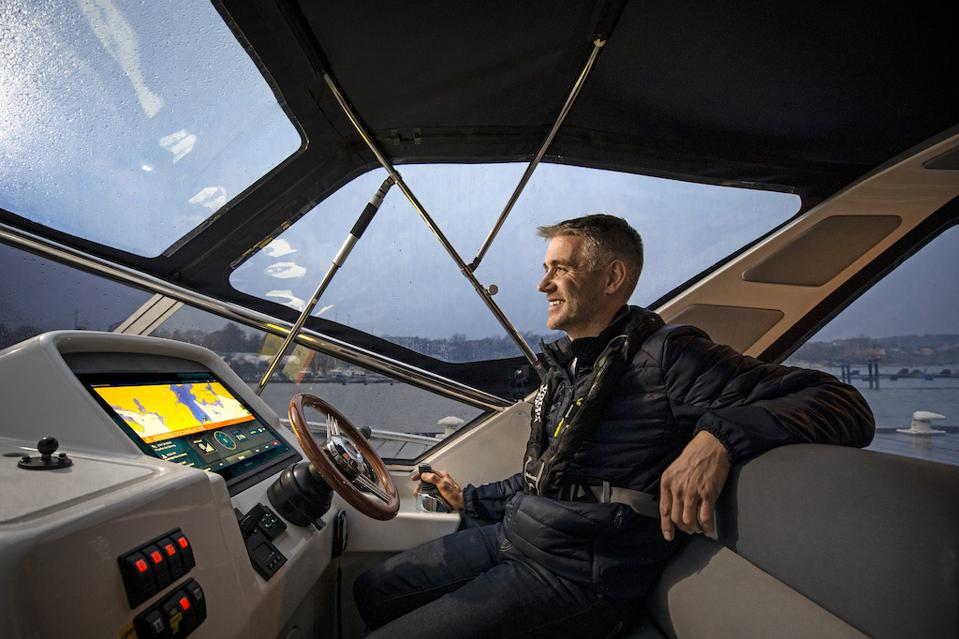 Volvo Penta's new Docking Assist System is designed to take the stress out of docking.