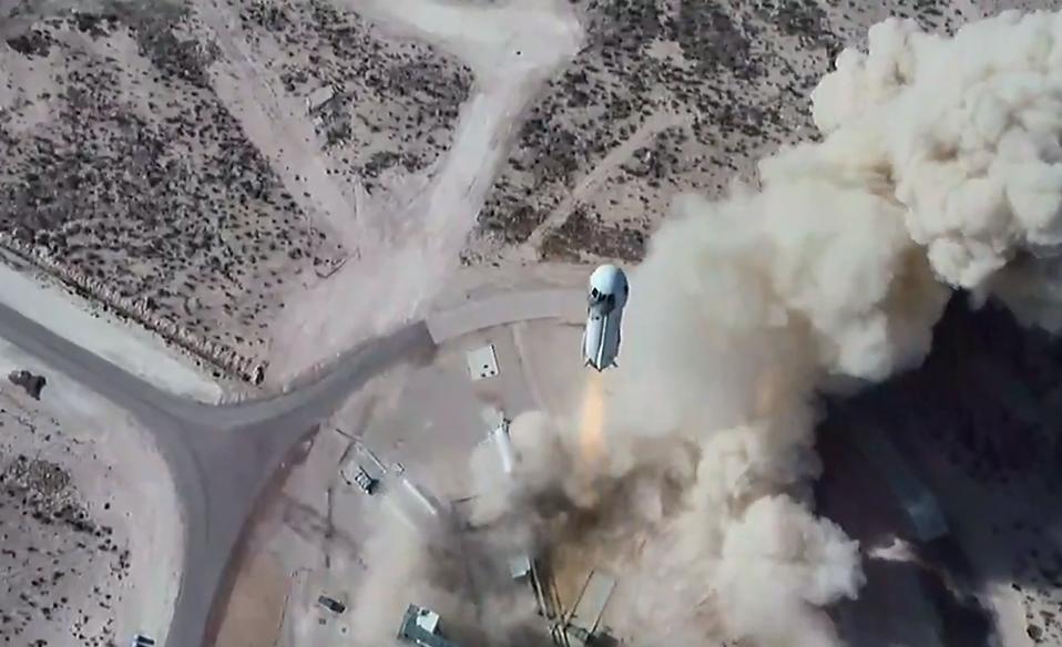 Blue Origin NS-14 launch