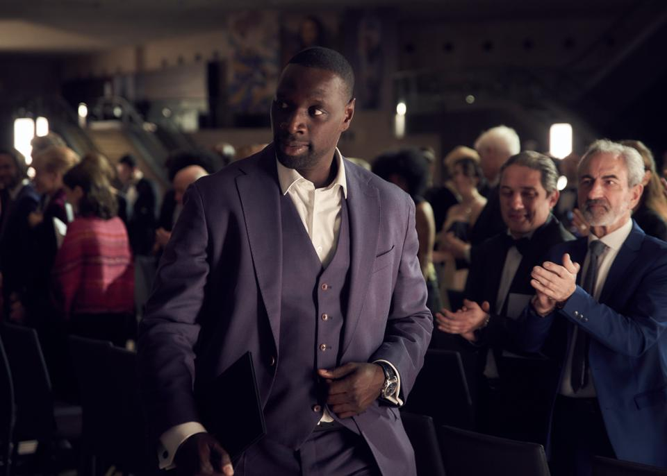 Omar Sy in Netflix's French original series 'Lupin'
