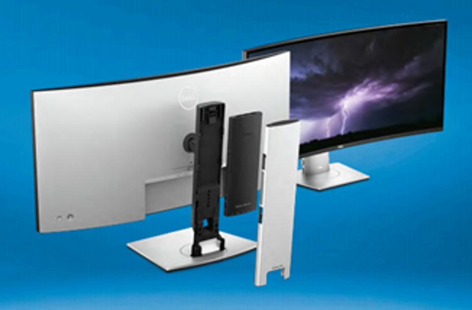 Dell 24 Video Conferencing Monitor, Dell 27 Video Conferencing Monitor, and Dell 34 Curved Video Conferencing Monitor