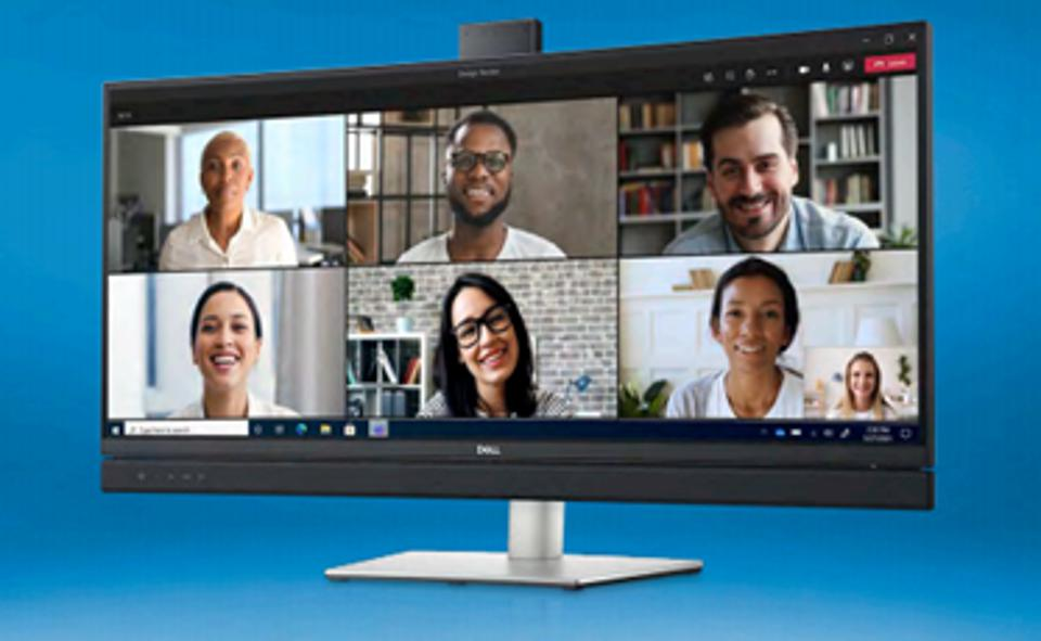 "Dell 34"" Video Conferencing Monitor"