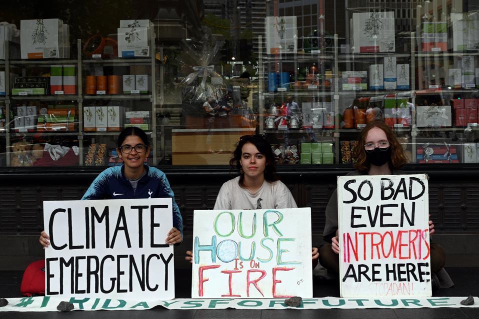 AUSTRALIA-CLIMATE-PROTEST