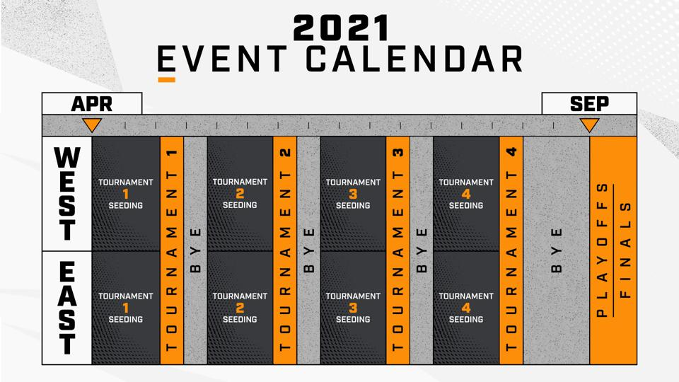 The Overwatch League 2021 event calendar