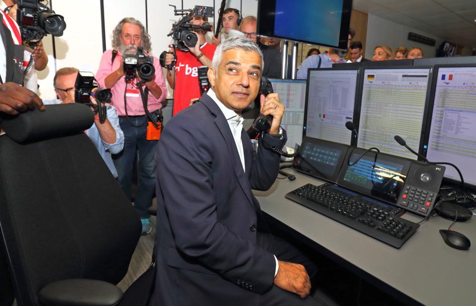 Mayor of London Sadiq Khan at the BGC Charity Day 2019 at...