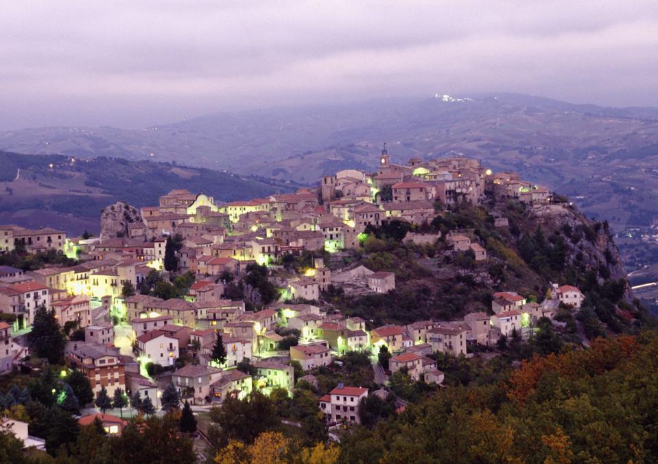 View of Castropignano