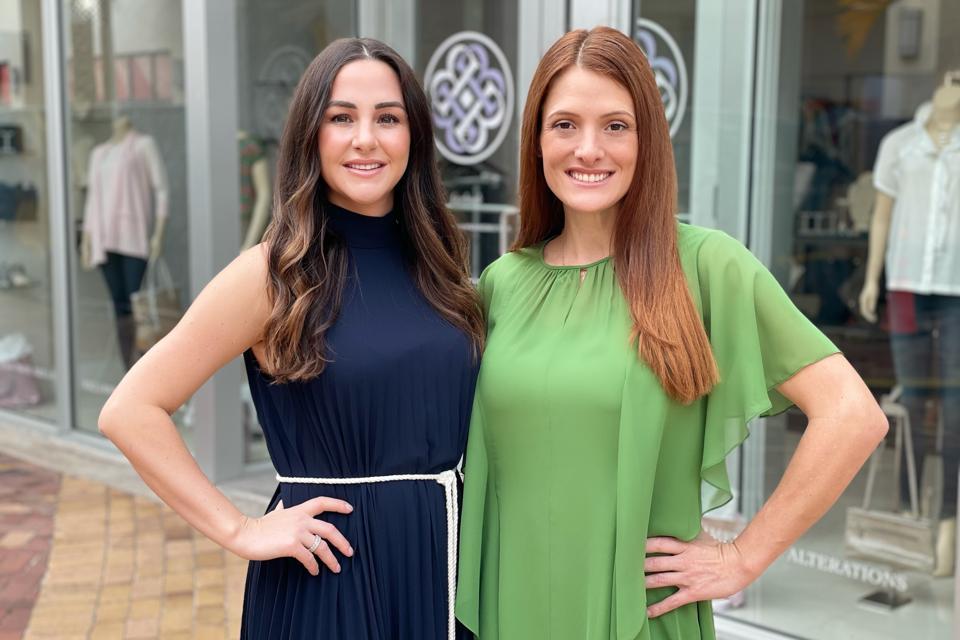 Morgan Bodstrom and Melanie van der Baan, co-founders of SwapRetail.
