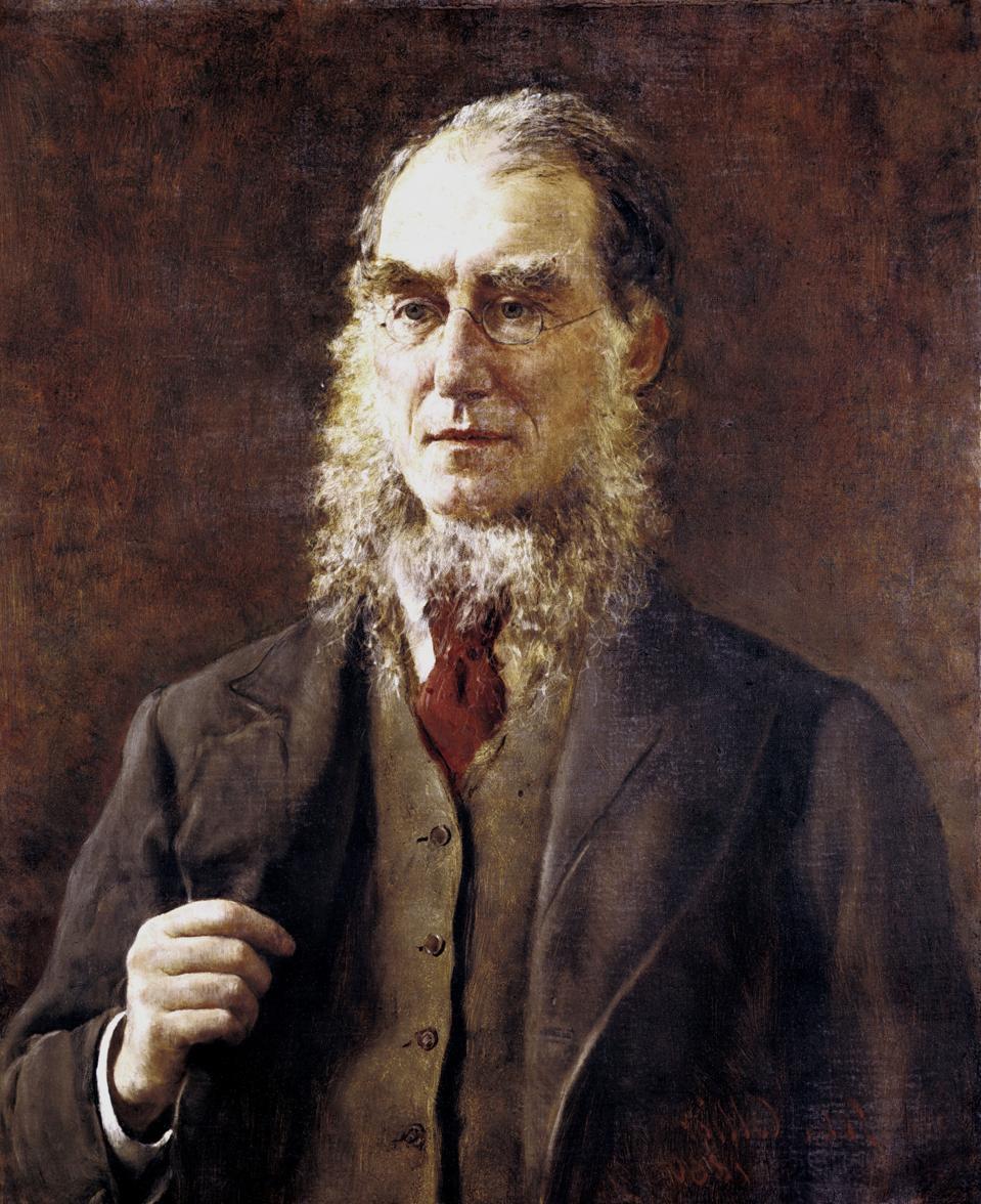 Portrait of botanist Joseph Dalton Hooker