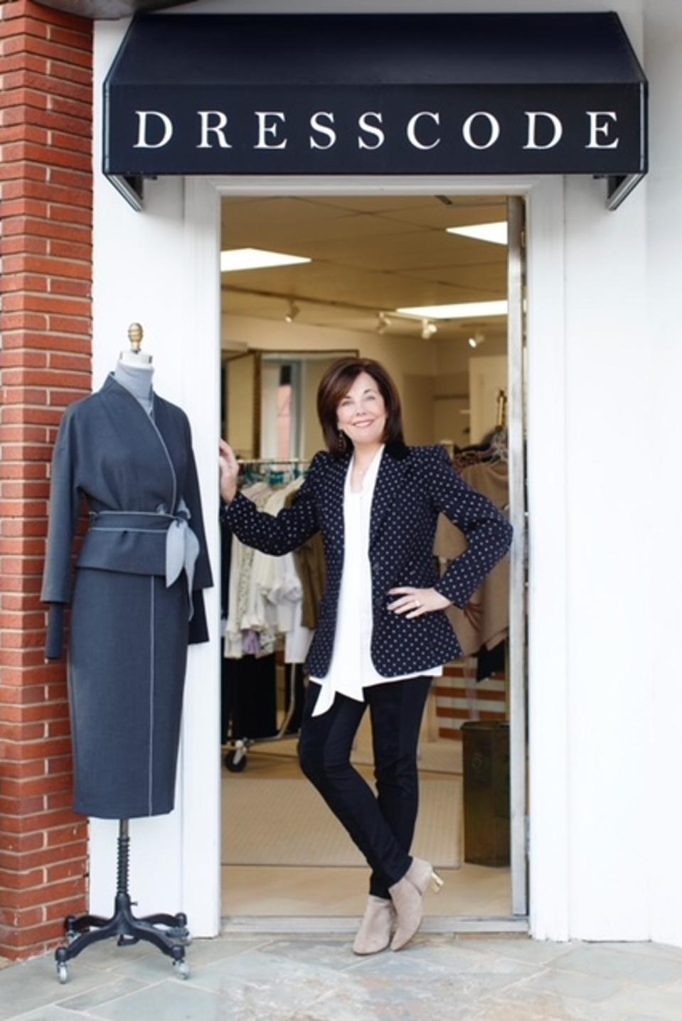 Maribeth Geraci, owner of Dress Code Style in Greensboro, NC