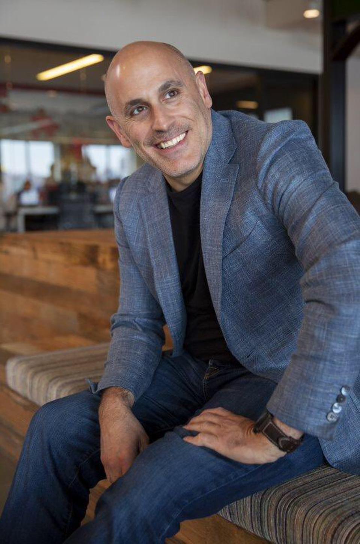 Marc Lore in the Jet.com office in Hoboken, N.J.