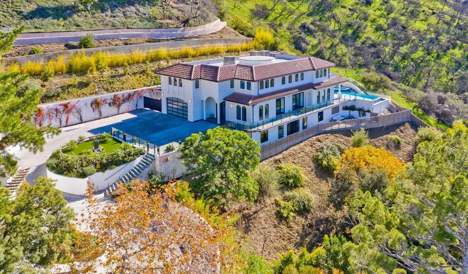 A luxury home in Sherman Oaks.