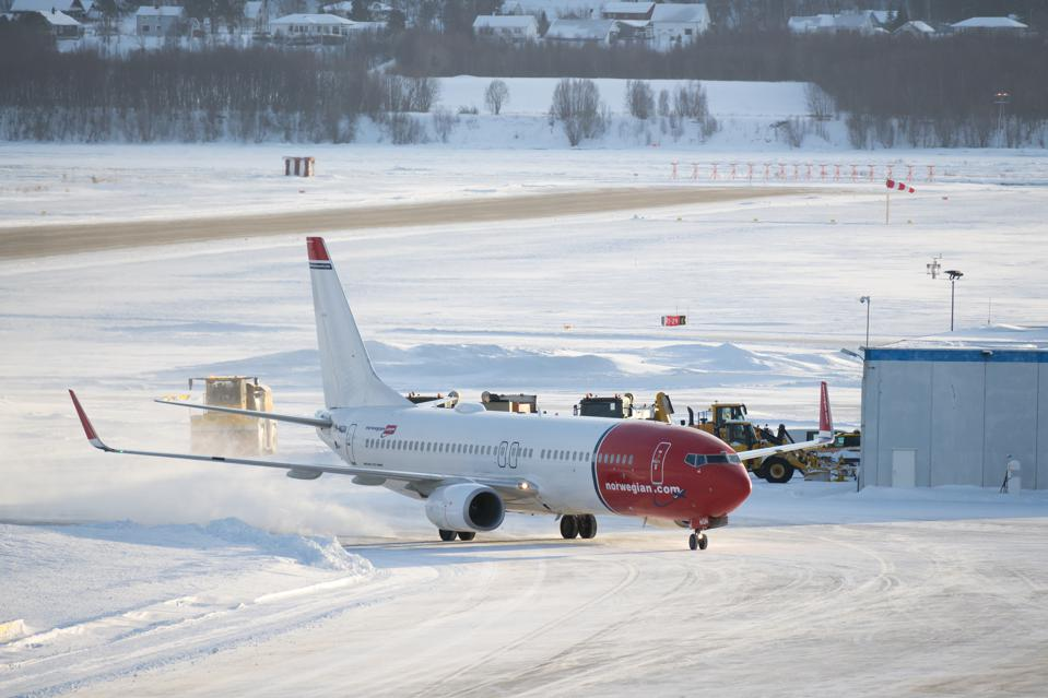 Views Of Norwegian Airlines Planes