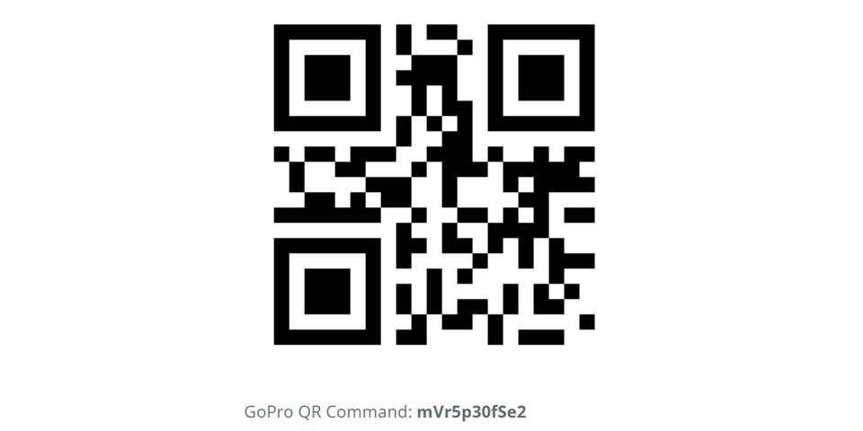 This is a QR code I just created to set a Hero9 Black to record 5.3K video at 30fps.