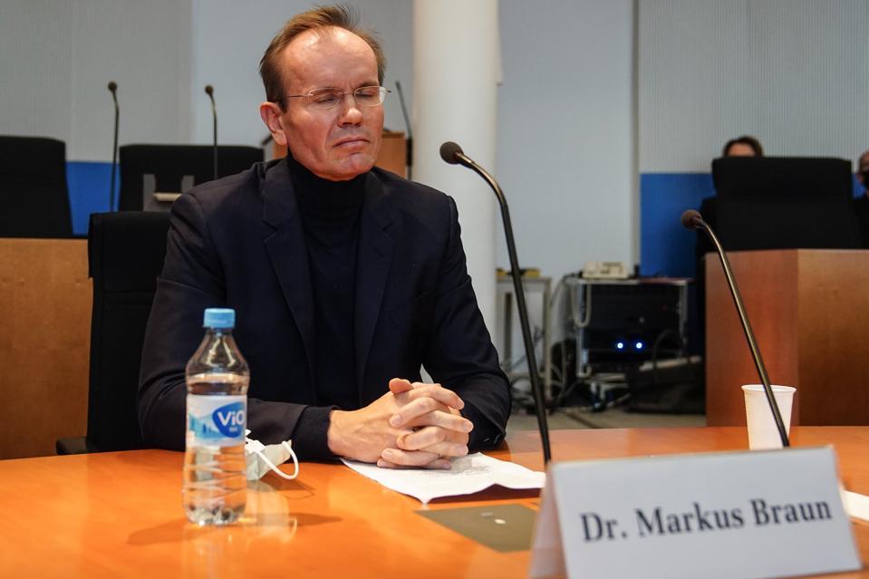 Markus Braun testifica en la comisión Wirecard