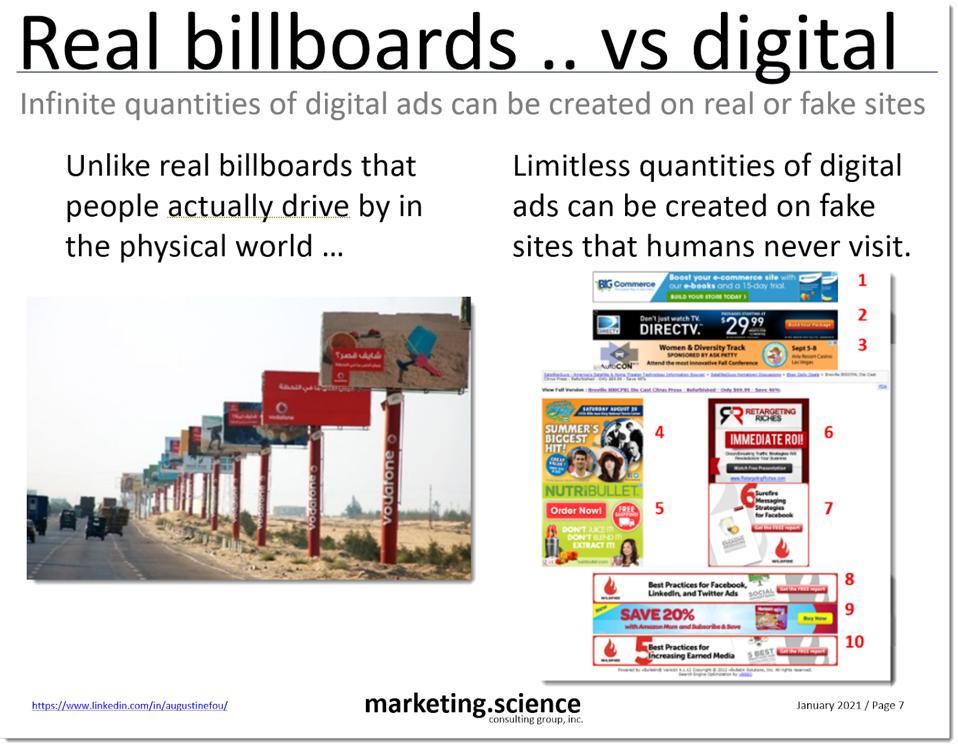 real billboards vs digital ones