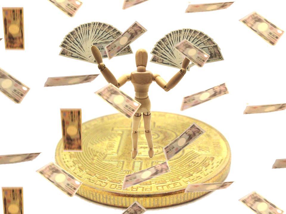Billionaire with bitcoin