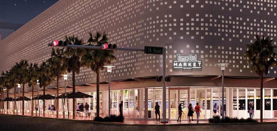 South Beach was the first US site for Time Out Market