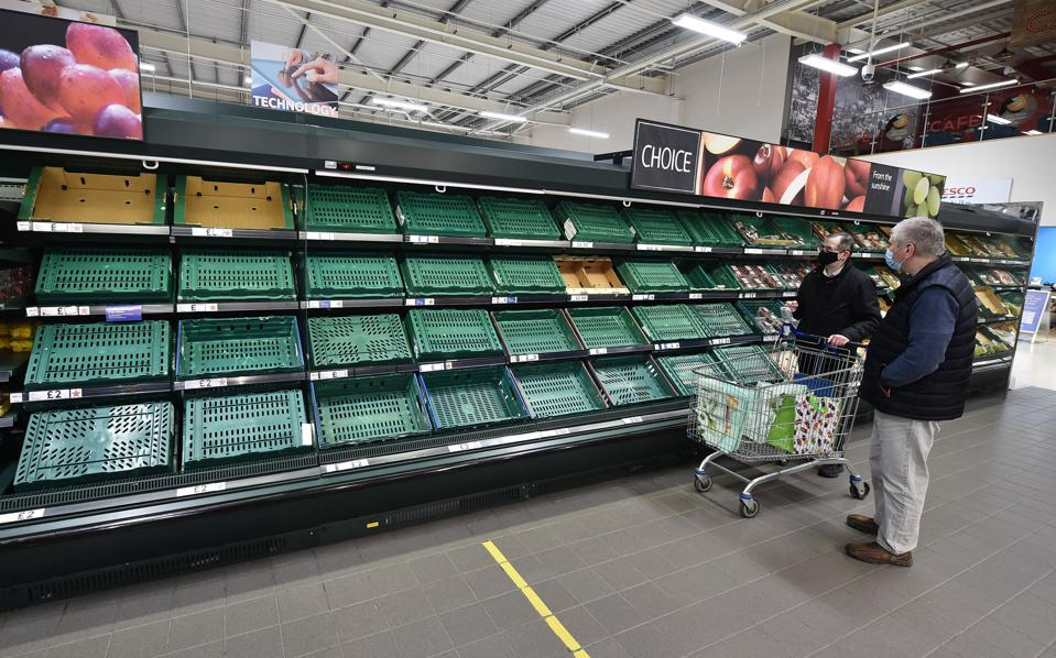 Northern Ireland Sees Post-Brexit Disruption To Food Supply