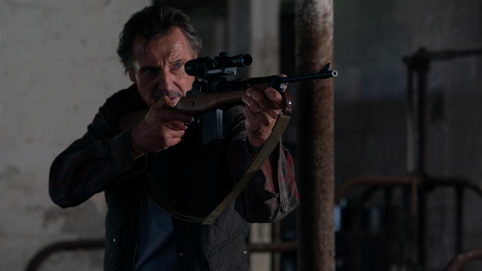 Liam Neeson in 'The Marksman'