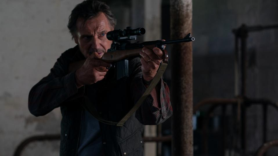 Liam Neeson in 'The Marksman'