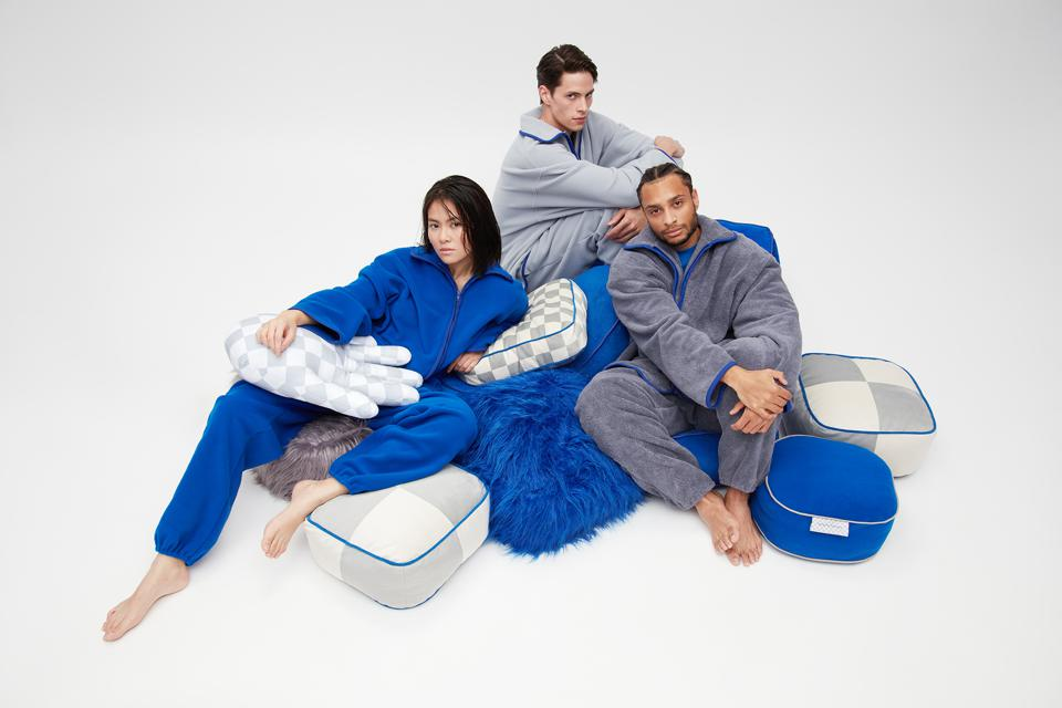 Crosby Studios Home, the inaugural range of home goods and loungewear is at once bold and comforting.