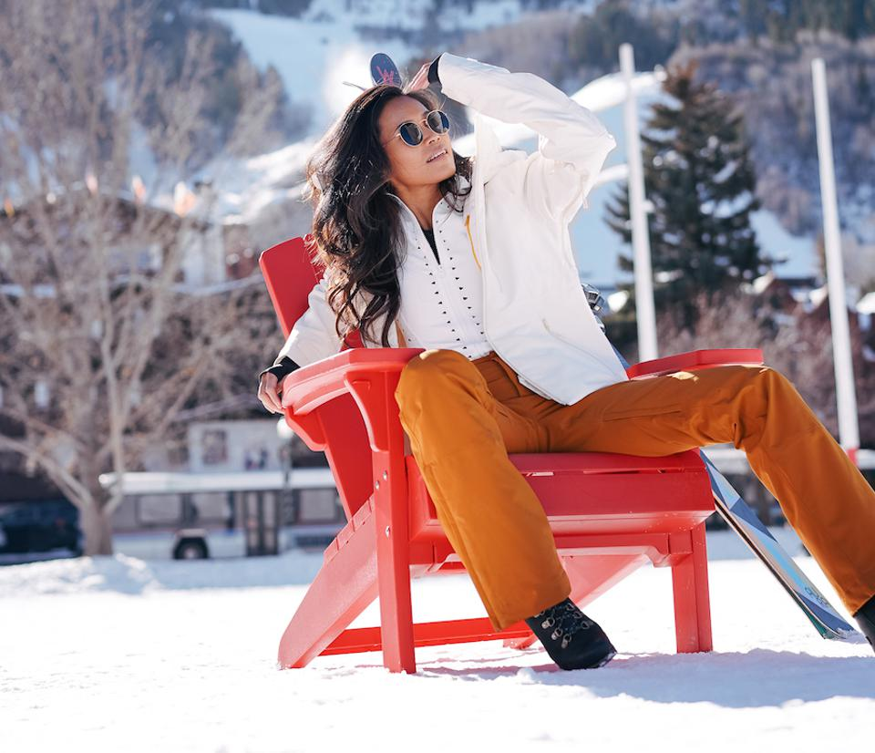 Halfdays Female Ski Brand Olympic Skier Kira McKinnon