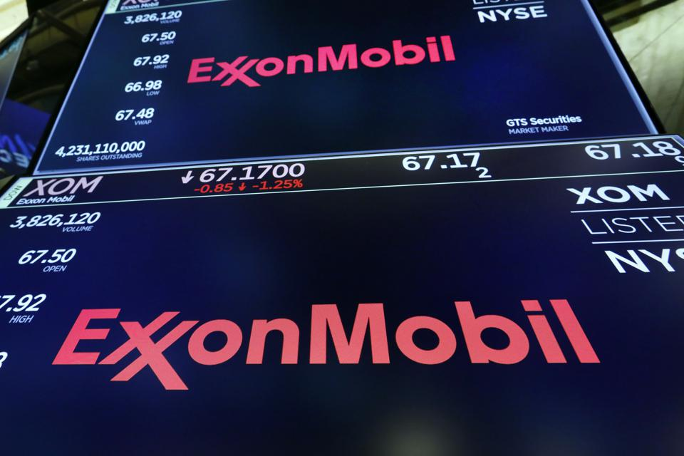 Financial Markets Wall Street ExxonMobil
