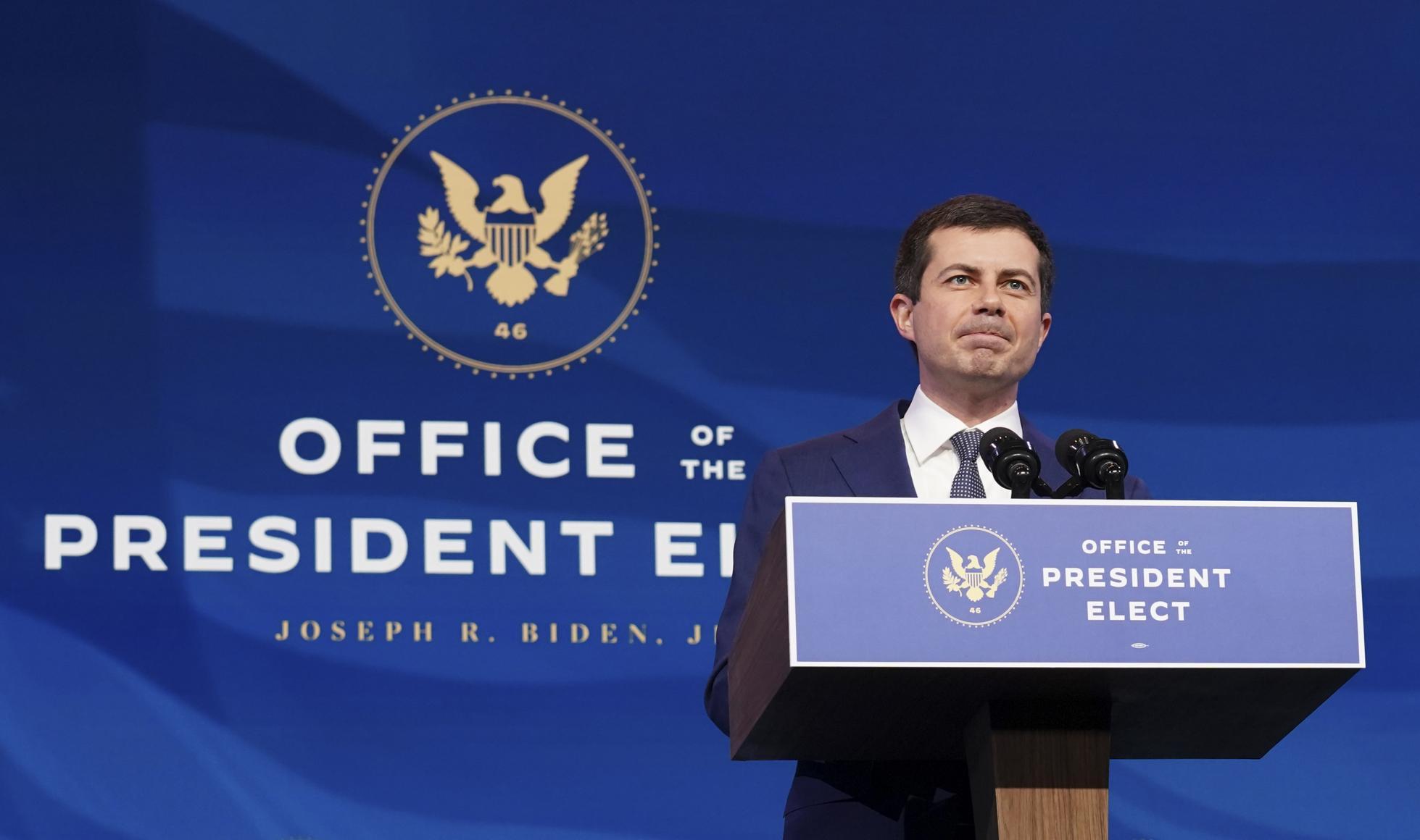 President-Elect Biden Announces Pete Buttigieg As Transportation Secretary Nominee