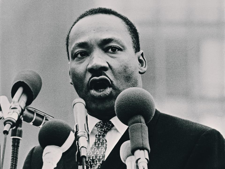 Martin Luther King Speaking
