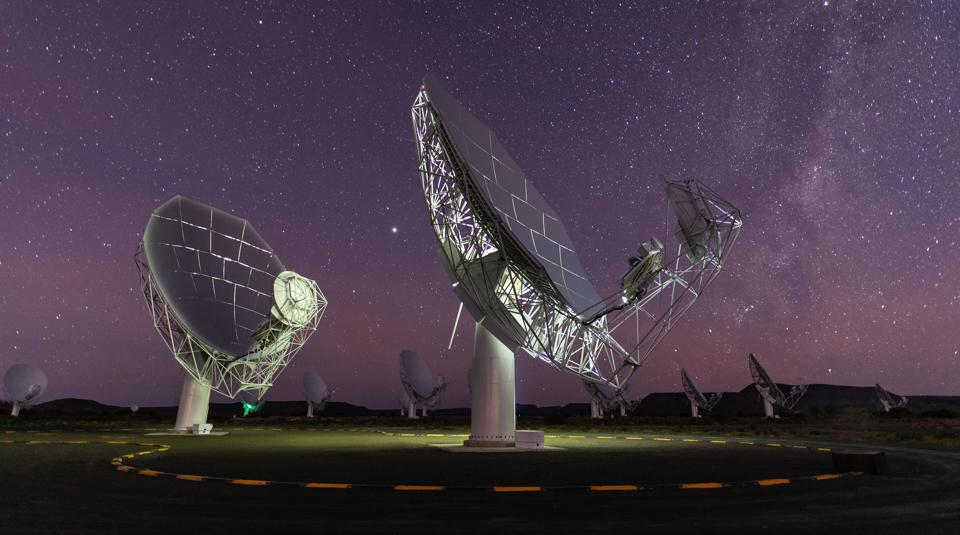 South Africa's MeerKAT telescope.