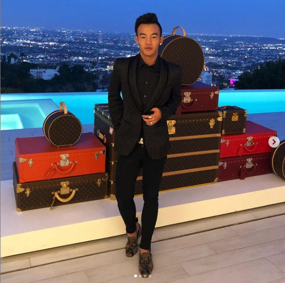 Kane Lim, singapore, louis vuitton, style, fashion, bling empire, netflix show