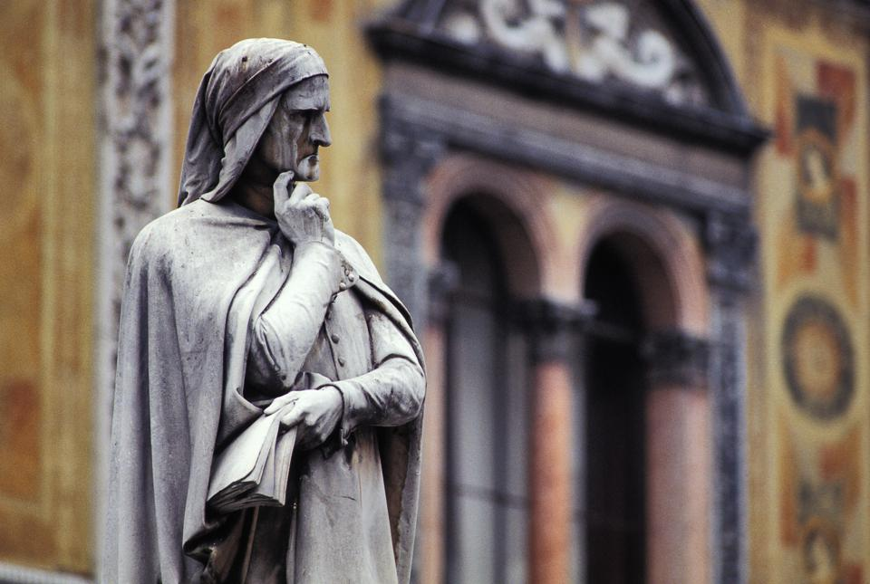 Statue di Dante