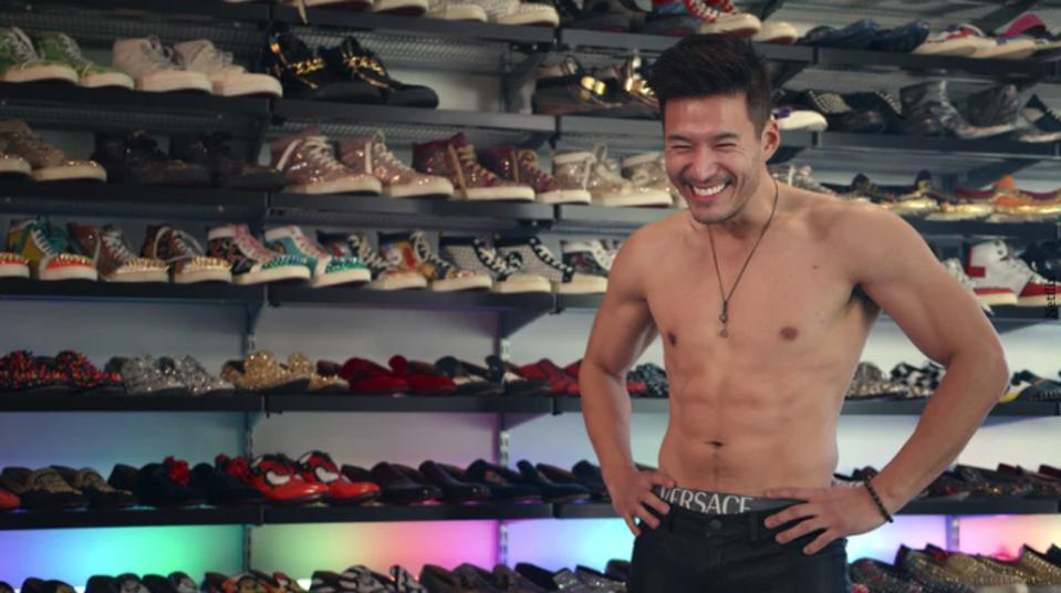 Bling Empire, Kevin Kreider, male mode, fitness, style, netflix, hit show