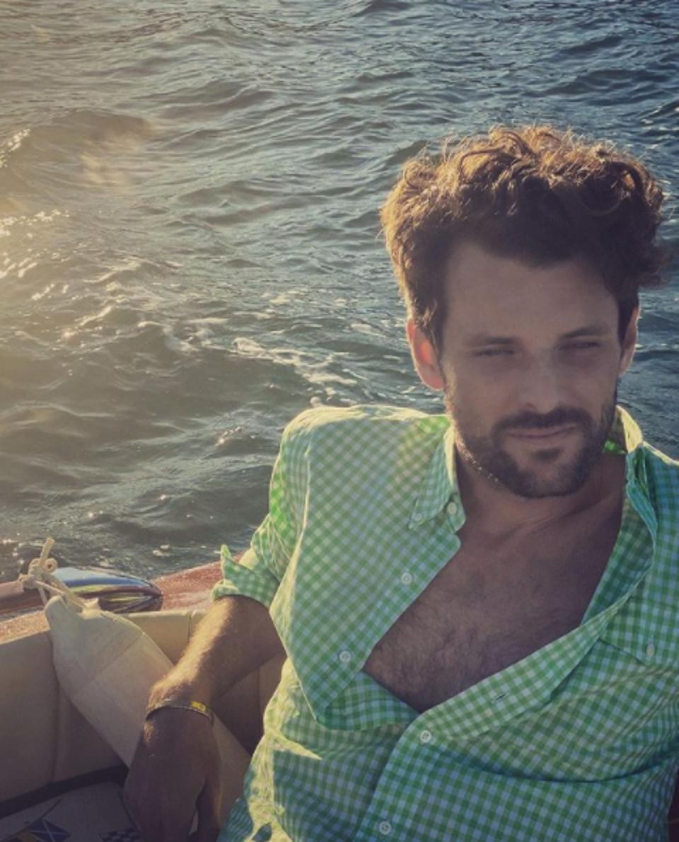 Florent Bonadei, bling empire, netflix, hit show, best friend of anna shay, style, french