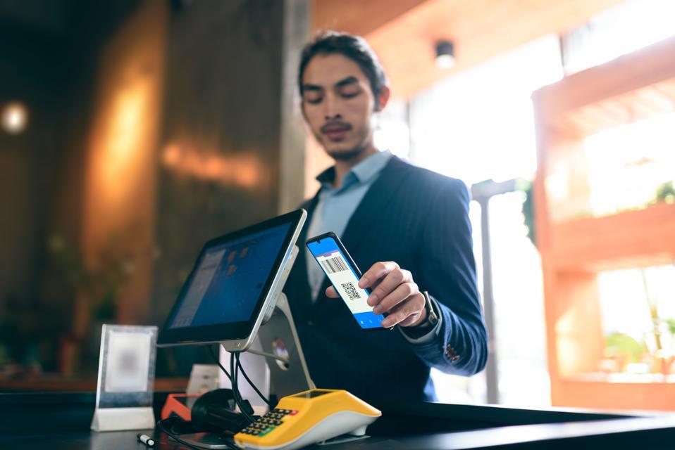 contactless payment via smart phone