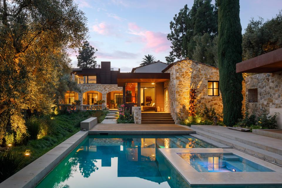 A luxury home in Beverly Hills.