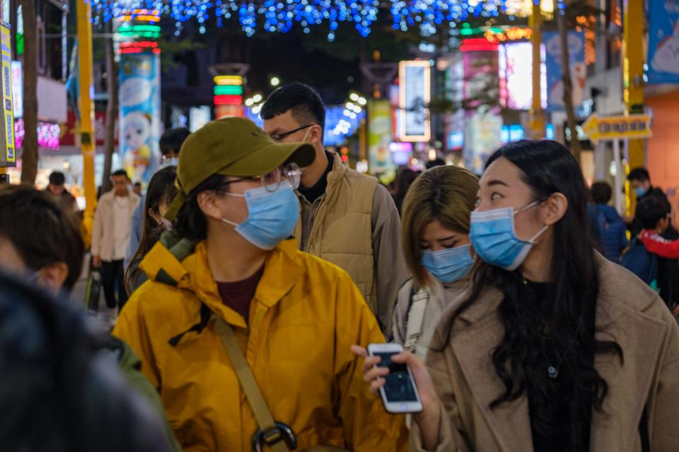 Daily life in Taipei amidst pandemic