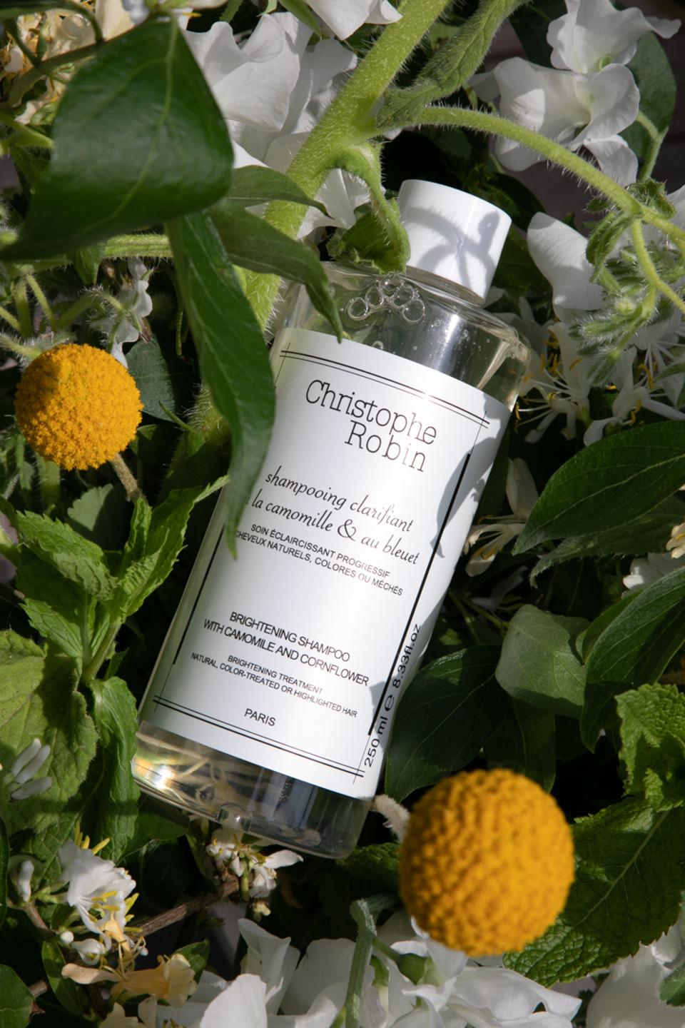 Christophe Robin Brightening Shampoo with Chamomile And Cornflower