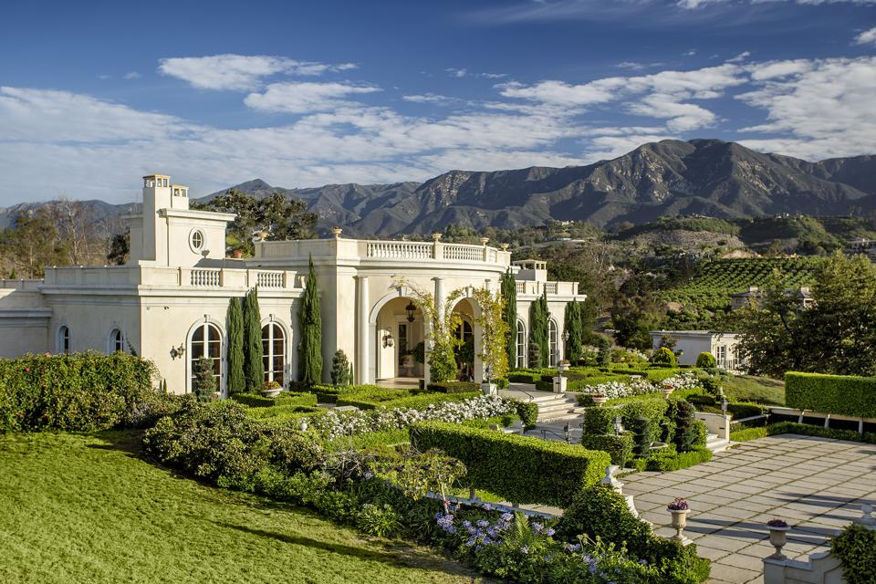 A luxury home in Summerland, California.