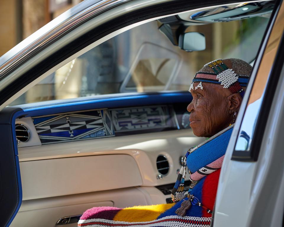 Esther Mahlangu Rolls-Royce Phantom