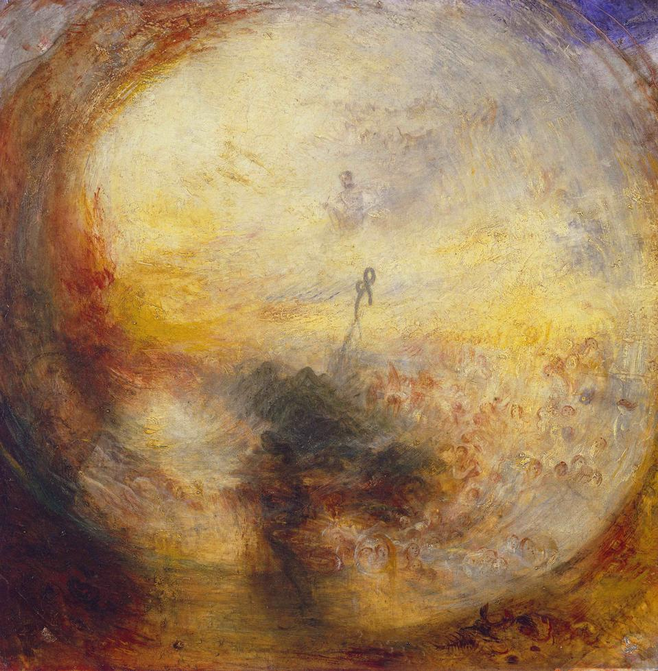 Turner's Morning after the Deluge (1843)