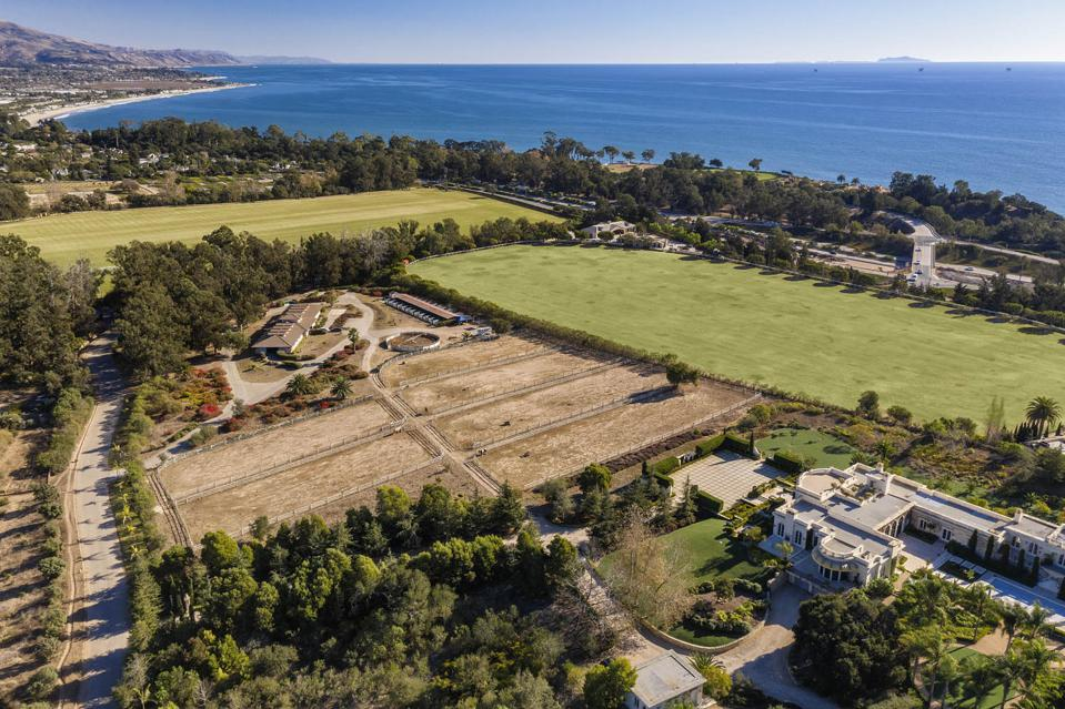 An equestrian estate in Santa Barbara County.