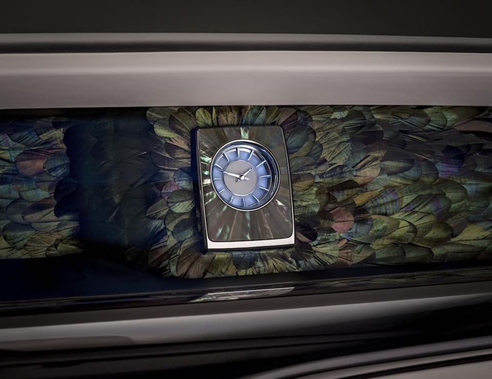 """Rolls-Royce Bespoke and Nature Squared create """"Iridescent Opulence"""""""