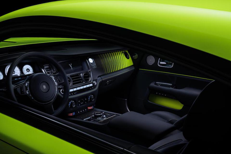 ″Neon Nights″ by Rolls-Royce Bespoke