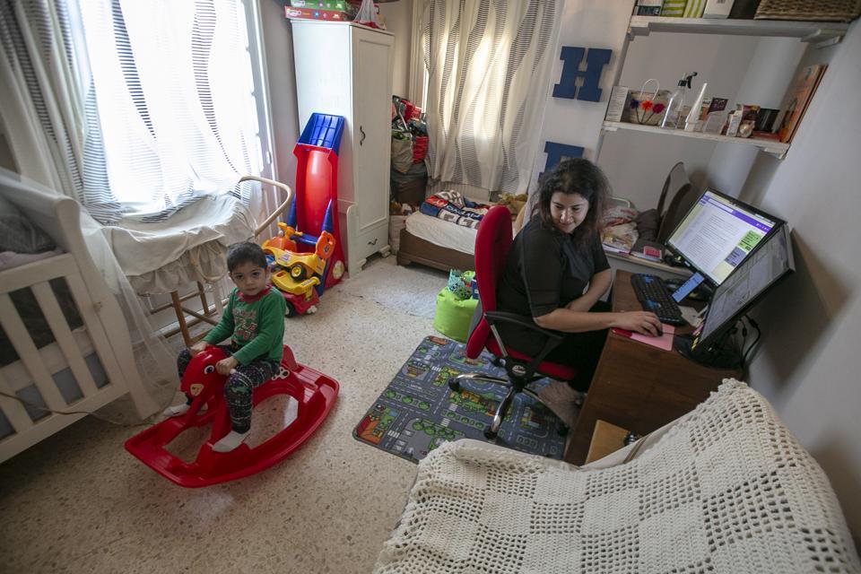 Tunisian family's one day of quarantine
