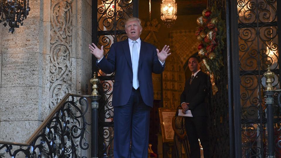 Donald Trump at Mar-a-Lago Club