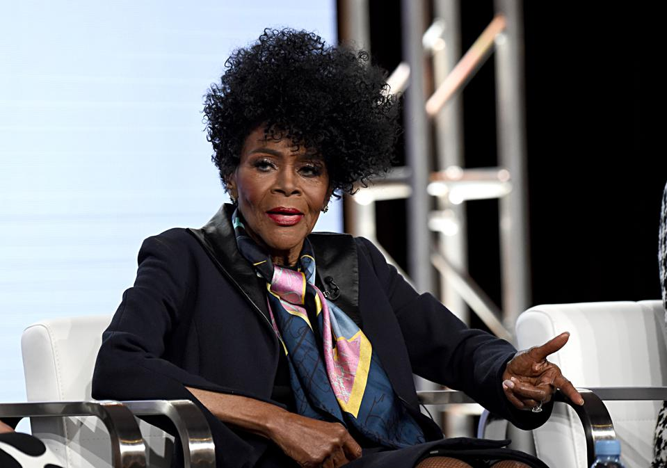Cicely Tyson at Discovery, Inc. TCA Winter Panel 2020