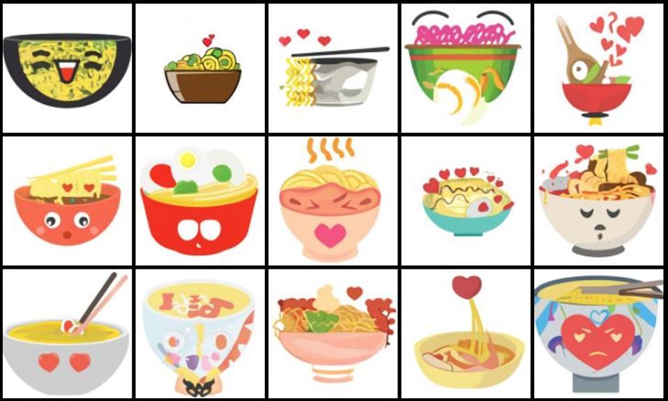 Lovestruck bowls of ramen